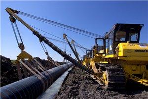 строительство технологического трубопровода