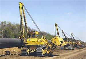 строительство трубопровода россии