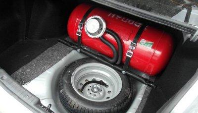 Переводим машину на сжатый газ